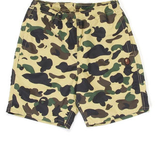 A BATHING APE - APE★1ST CAMO BEACH SHORTS★迷彩ショートパンツ