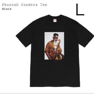 シュプリーム(Supreme)のLサイズ 黒 Pharoah Sanders Tee(Tシャツ/カットソー(半袖/袖なし))