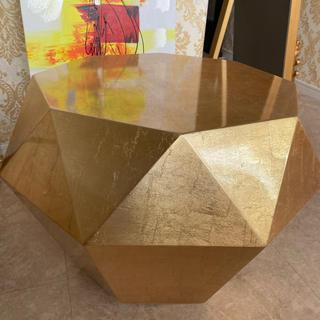 フランフラン(Francfranc)のダイヤモンドテーブル 準備中(ローテーブル)