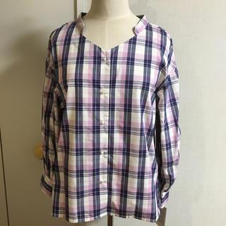 クチュールブローチ(Couture Brooch)の新品クチュールブローチチェックシャツ(シャツ/ブラウス(長袖/七分))