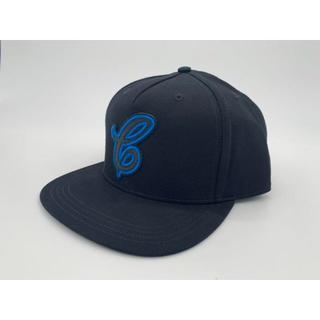 コーチ(COACH)のcoach キャップ ブラック 帽子 コーチ ブルーロゴ(キャップ)