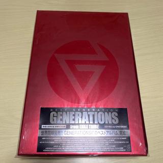 ジェネレーションズ(GENERATIONS)のBEST GENERATION(数量限定生産盤/Blu-ray Disc4枚付)(ミュージック)