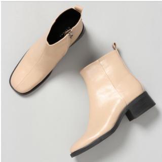 ジーナシス(JEANASIS)のJEANASIS 20SS スクエアトゥブーツ(ブーツ)