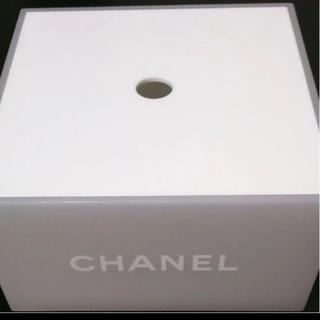 シャネル(CHANEL)のシャネル コスメカウンター コットンケース 中にシャネルのコットン入れときます(ケース/ボックス)