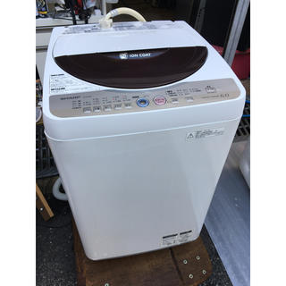 シャープ(SHARP)の🌈シャープ6.0kg洗濯機✨美品(洗濯機)