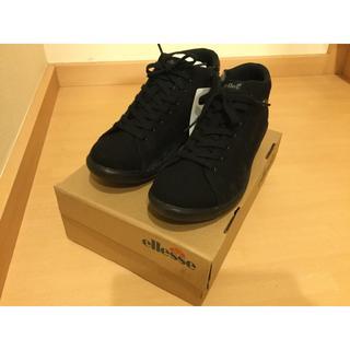 エレッセ(ellesse)のellesse V-CU027W ブラック 24.0cm(ブーツ)