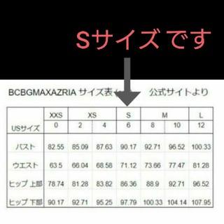 ビーシービージーマックスアズリア(BCBGMAXAZRIA)の【BCBGMAXAZRIA サイズ表】(ひざ丈ワンピース)