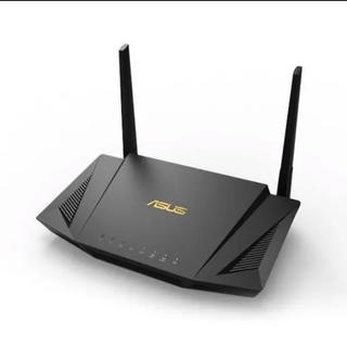 エイスース(ASUS)のasus RT-AX56U Wi-Fi6対応ルーター 無線 (PC周辺機器)