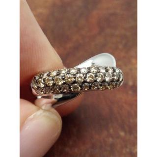 人気のポンテヴェキオです!K18WGダイヤリング 11号(リング(指輪))