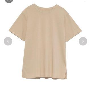 ミラオーウェン(Mila Owen)の新品未使用タグ付き Mila Owen ハイラインTシャツ 0(Tシャツ(半袖/袖なし))