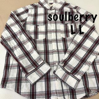 ソルベリー(Solberry)のsoulberry L L 長袖シャツ(シャツ/ブラウス(長袖/七分))