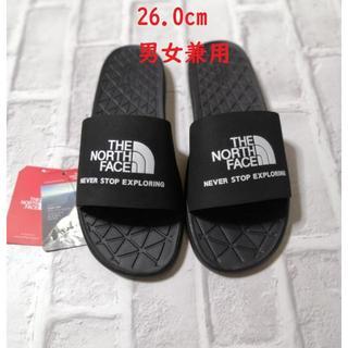THE NORTH FACE - 完売❗ ノースフェイス サンダル スリッパ TNF 26cm 黒 k16