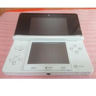 ニンテンドー3DS(ニンテンドー3DS)のNINTENDO 3DS 本体 ホワイト(携帯用ゲーム機本体)