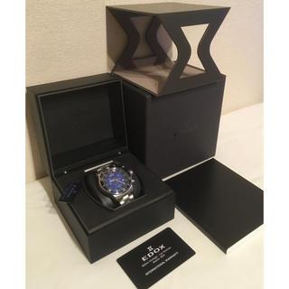 エドックス(EDOX)の【新品未使用】エドックス EDOX クロノラリー 腕時計(腕時計(アナログ))