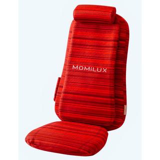 ドウシシャ - 早い者勝ち!敬老の日にMOMiLUX軽量シートマッサージャ赤 血行促進 疲労回復
