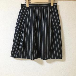 デミルクスビームス(Demi-Luxe BEAMS)のスカート ストライプ(ひざ丈スカート)