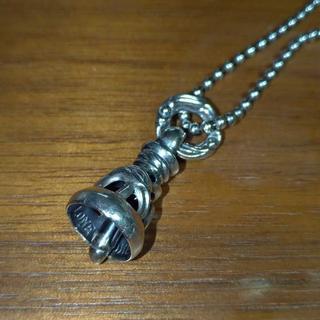 ロンワンズ(LONE ONES)の【正規品 美品】ロンワンズ クレーンベル ペンダントSサイズ 48cm(ネックレス)
