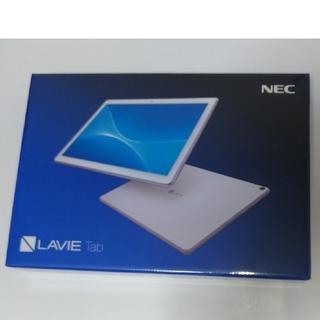 エヌイーシー(NEC)の新品未開封 NEC タブレット PC-TE710KAW  LAVIE Tab E(タブレット)