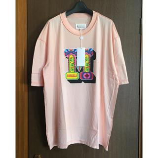 マルタンマルジェラ(Maison Martin Margiela)の46新品64%off メゾン マルジェラ デストロイ オーバーサイズ Tシャツ (Tシャツ/カットソー(半袖/袖なし))