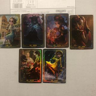 第五人格ライセンスカード 非売品 深渊宝蔵2周年記念 第一弾 六枚セット(キャラクターグッズ)