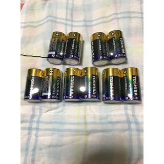 東芝 - 東芝 単1アルカリ乾電池 10本