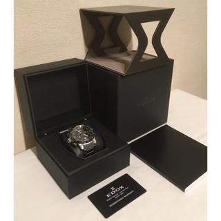 エドックス(EDOX)の【新品未使用】エドックス EDOX クロノグラフ 腕時計(腕時計(アナログ))