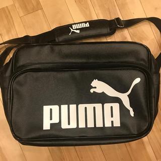PUMA - プーマ エナメルバッグ L 新品未使用