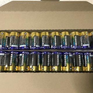 トウシバ(東芝)の東芝 単1アルカリ乾電池 20本(その他)