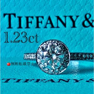 ティファニー(Tiffany & Co.)の定価240万円✨1.23ct ティファニーエンブレイスリングビクトリアソレスト(リング(指輪))