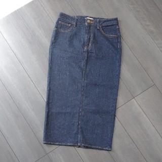 マウジー(moussy)のmoussy♡デニムスカート(ひざ丈スカート)