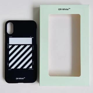 オフホワイト(OFF-WHITE)のOff-White iPhone X/XS ケース ダイアグ ブラック(iPhoneケース)