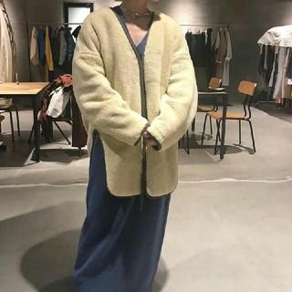 エンフォルド(ENFOLD)の最終値下げ nagonstans ナゴン ボアドルマンジャケット エコファー(毛皮/ファーコート)