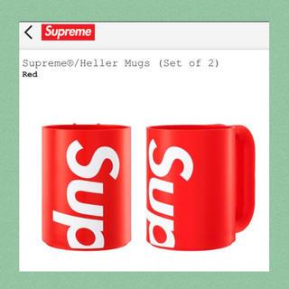 シュプリーム(Supreme)の本物 正規品 supreme マグカップ コップ tシャツ パーカー bag新作(グラス/カップ)
