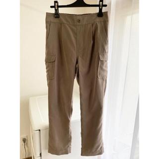 ベルメゾン(ベルメゾン)のすっぽり履けるアンクル丈パンツ 未使用品(カジュアルパンツ)