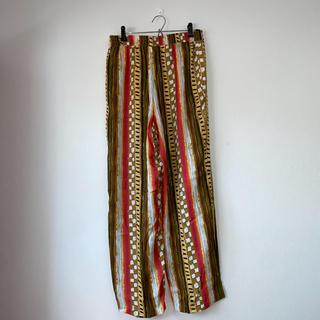 グリモワール(Grimoire)のヨーロッパ 古着 総柄パンツ  pia parelli 80s〜90s (カジュアルパンツ)