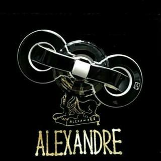 アレクサンドルドゥパリ(Alexandre de Paris)の新品☆アレクサンドル ドゥ パリ バレッタ オスモス ブラック(バレッタ/ヘアクリップ)