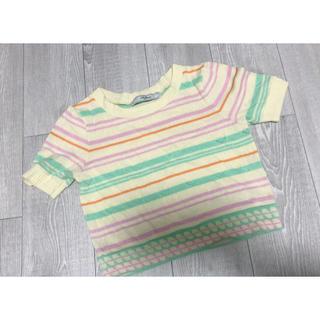リリーブラウン(Lily Brown)のボーダートップス(Tシャツ(半袖/袖なし))