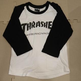 スラッシャー(THRASHER)の値下げ☆THRASHER ラグランTシャツ7分袖(Tシャツ/カットソー(七分/長袖))