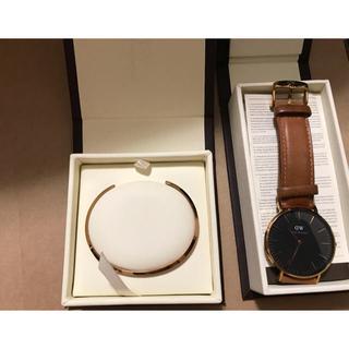 ダニエルウェリントン(Daniel Wellington)のダニエルウェリントン 時計 バングル セット(腕時計(アナログ))