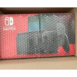 ニンテンドースイッチ(Nintendo Switch)の【未開封】任天堂スイッチ 本体 新型 Nintendo Switch グレー(家庭用ゲーム機本体)