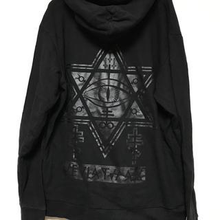 シュプリーム(Supreme)のKRY clothing 限定DAVIDE BLACKプリント(パーカー)