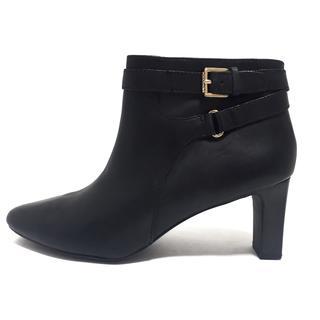ラルフローレン(Ralph Lauren)のラルフローレン ショートブーツ 9B 黒(ブーツ)