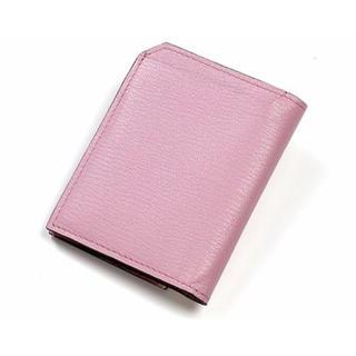 バーニーズニューヨーク(BARNEYS NEW YORK)の新品 ラルコバレーノ 翁安芸さん別注 スマートカードウォレット ピンク 財布(財布)