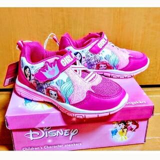 Disney - コストコ購入☆ディズニープリンセス 女児スニーカー 19cm 新品
