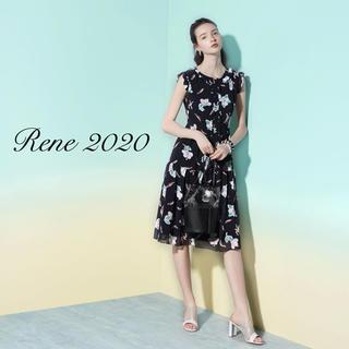 ルネ(René)の新品タグ付【Rene】2020年DM掲載フラワーセットアップ(セット/コーデ)
