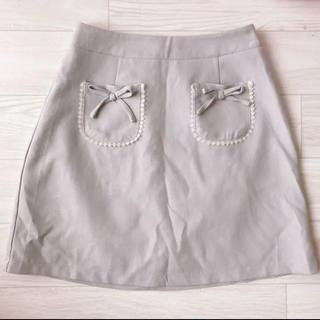 ロジータ(ROJITA)のROJITA リボン付き台形スカート(ミニスカート)