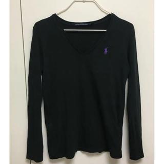 ラルフローレン(Ralph Lauren)のラルフローレン  ブラック XS(Tシャツ(長袖/七分))