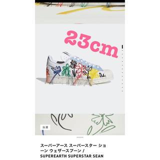 アディダス(adidas)の訳有 adidas SUPEREARTH SEANWOTHERSPOON23cm(スニーカー)