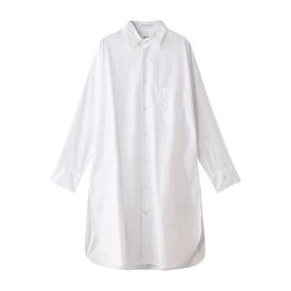 マディソンブルー(MADISONBLUE)のマディソンブルー  J.BRADLEY ロングシャツ 2020SS/白 ホワイト(ロングワンピース/マキシワンピース)