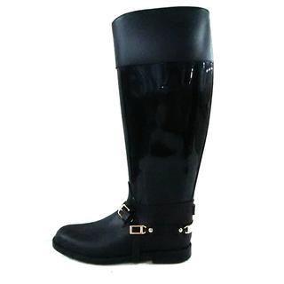 ジミーチュウ(JIMMY CHOO)のジミーチュウ レインブーツ レディース 黒(レインブーツ/長靴)